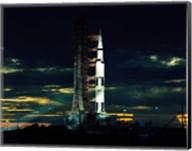 Apollo 17 the Last Moon Shot Fine-Art Print