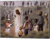 Black Baptism Fine-Art Print