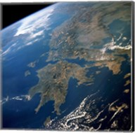 Greece from Space Fine-Art Print