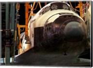 Space Shuttle Atlantis under construction Fine-Art Print