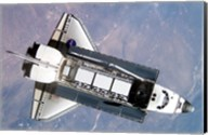 STS-112 Atlantis carrying S1 truss Fine-Art Print