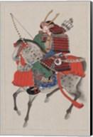 Samurai Riding a Horse Fine-Art Print