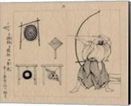Japanese archer 1878b Fine-Art Print