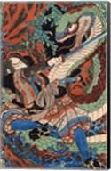 Kuniyoshi Utagawa, Suikoden Series Fine-Art Print