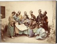 Satsuma samurai during boshin war period Fine-Art Print