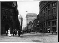 Yonge Street at Front Street in Toronto Fine-Art Print