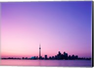 Buildings on the waterfront, Toronto, Ontario, Canada Fine-Art Print