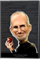 Steve Jobs - Creator, Innovator, Legend Fine-Art Print