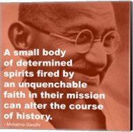 Gandhi - Determination Quote Fine-Art Print