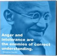 Gandhi - Intolerance Quote Fine-Art Print