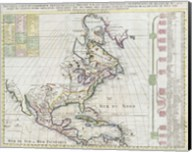 1720 Chatelain Map of North America Fine-Art Print