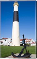 Absecon Lighthouse Museum, Atlantic County, Atlantic City, New Jersey, USA Fine-Art Print