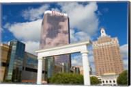 Ballys Casino & Brighton Park, Atlantic City Boardwalk, New Jersey, USA Fine-Art Print