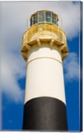Absecon Lighthouse Museum, Atlantic County, Atlantic City, New Jersey up close Fine-Art Print
