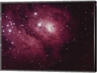 Lagoon Nebula in Sagittarius Fine-Art Print