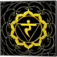 Manipura - Solar Plexus Chakra, Sparkling Jewel Fine-Art Print