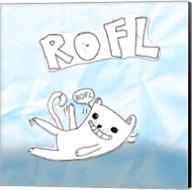 ROFL Cat Fine-Art Print