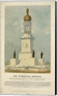 Original concept for the Washington Monument Fine-Art Print
