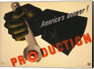 Production poster WW1 Fine-Art Print