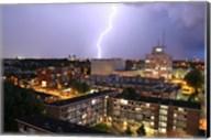 Utrecht-Oost Tijdens Onweer Vanaf Fine-Art Print