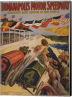 Indianapolis Motor Speedway Fine-Art Print