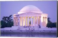 Jefferson Memorial at dusk, Washington, D.C., USA Fine-Art Print