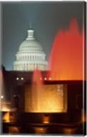 Capitol Building Washington, D.C. (fountains) Fine-Art Print
