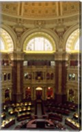 Main Reading Room Library of Congress Washington, D.C. USA Fine-Art Print