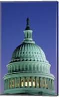 Capitol Building lit up at night, Washington D.C., USA Fine-Art Print