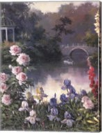 Summer Garden Triptych Fine-Art Print