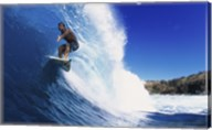 Surfing - Action shot Fine-Art Print