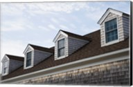 Dormers of a building, Cape Cod, Massachusetts, USA Fine-Art Print
