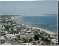 USA, Massachusetts, Cape Cod, Provincetown, townscape Fine-Art Print