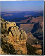 High angle view of rock formations, Grand Canyon National Park, Arizona, USA Fine-Art Print