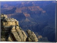 High angle view of rock formation, Grand Canyon National Park, Arizona, USA Fine-Art Print