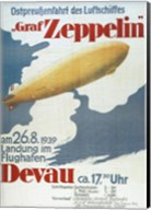 Zeppelin in Devau 1939 Fine-Art Print