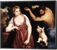 Venus, Mars and Cupid Fine-Art Print