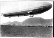 Zeppelin Airship LZ 11 Viktoria Luise on May 5, 1912 in Marburg Fine-Art Print