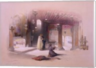 Shrine of the Nativity Bethlehem April 6th 1839 Fine-Art Print