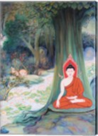 Paintings of Life of Gautama Buddha Fine-Art Print