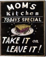 Mom's Kitchen Fine-Art Print