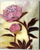 Pink Peony Blossom and Bud Fine-Art Print