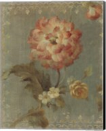 Poppy on Sage Fine-Art Print
