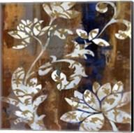 Moonlight Magnolia Silhouette I Fine-Art Print