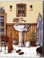 His Bathroom Fine-Art Print