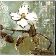 White Trellis II Fine-Art Print