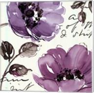 Floral Waltz Plum II Fine-Art Print