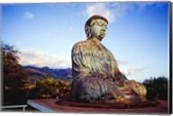 Bronze Buddha's Statue, Jodo Mission, Lahaina, Maui, Hawaii, USA Fine-Art Print