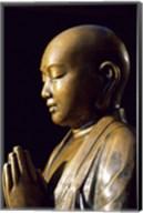 Close-up of a Buddha Statue, Asakusa Kannon Temple, Tokyo, Japan Fine-Art Print