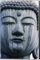 Face of a Buddha Statue, Japan Fine-Art Print